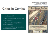 workshop CITIES AND COMICS