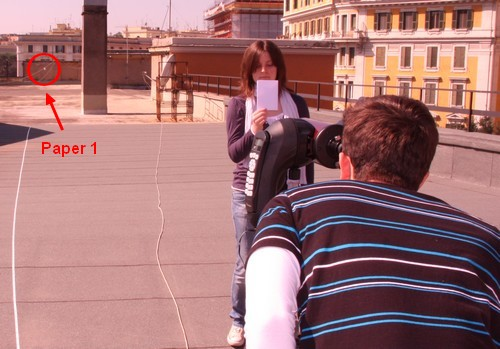 Our experiment in Roma