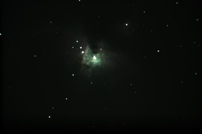 M42 - center of the nebulae