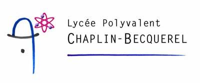 Logo Lycée Chaplin Becquerel