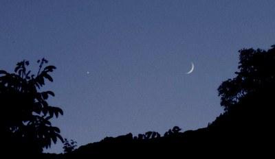 1C Venus Moon evening