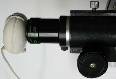 1C webcam telescope