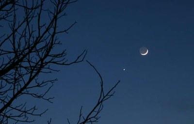 Venus sous Lune